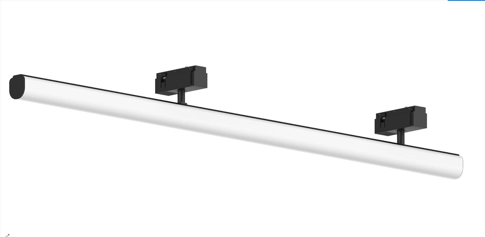 גופי תאורה בקטגוריית: מערכות תאורה קליק 25 ,שם המוצר: פס תאורה גשר 120 למערכת קליק 25