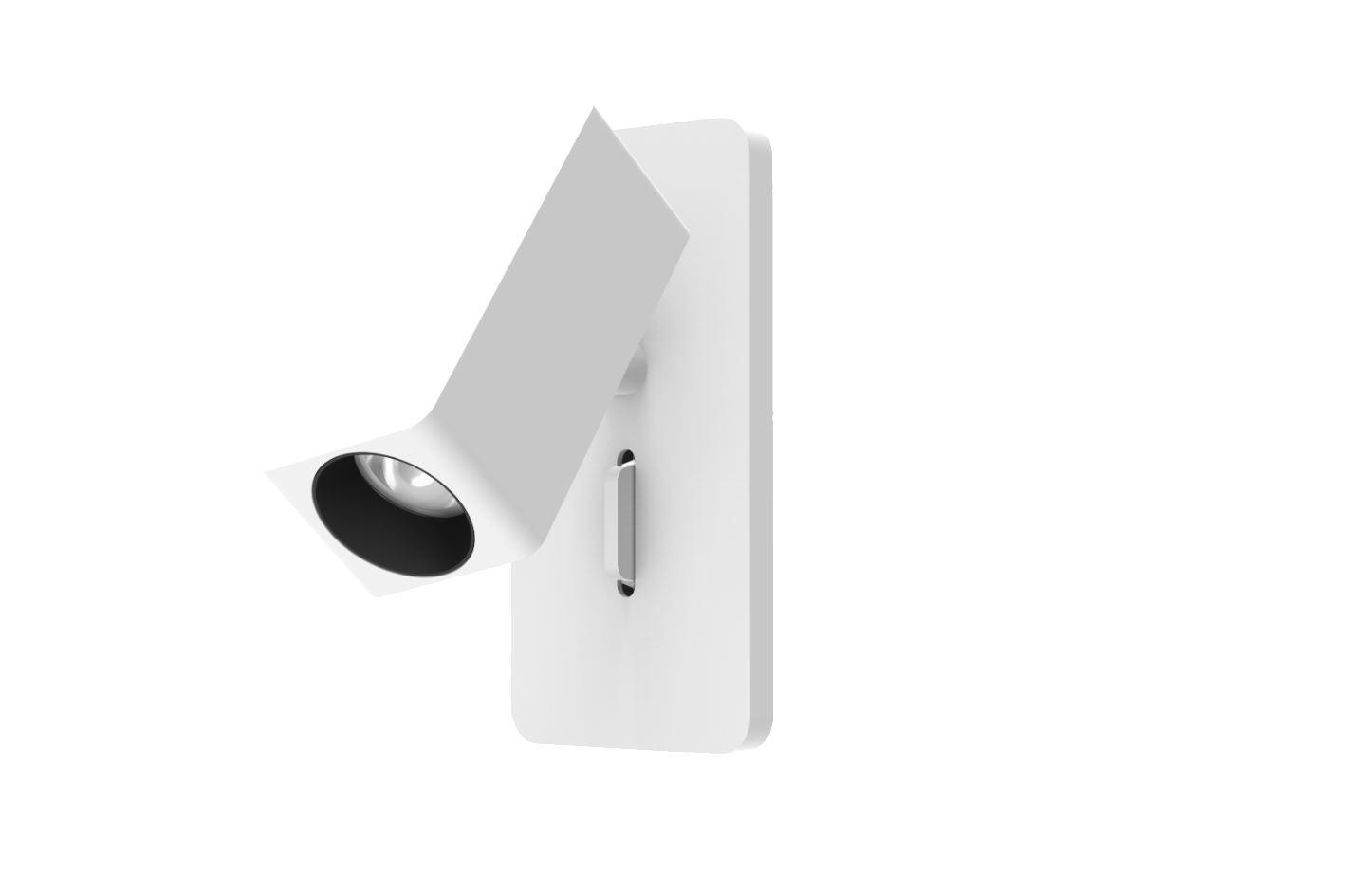 גופי תאורה בקטגוריית: מנורות קיר  ,שם המוצר: קיר קריאה TN מלבני