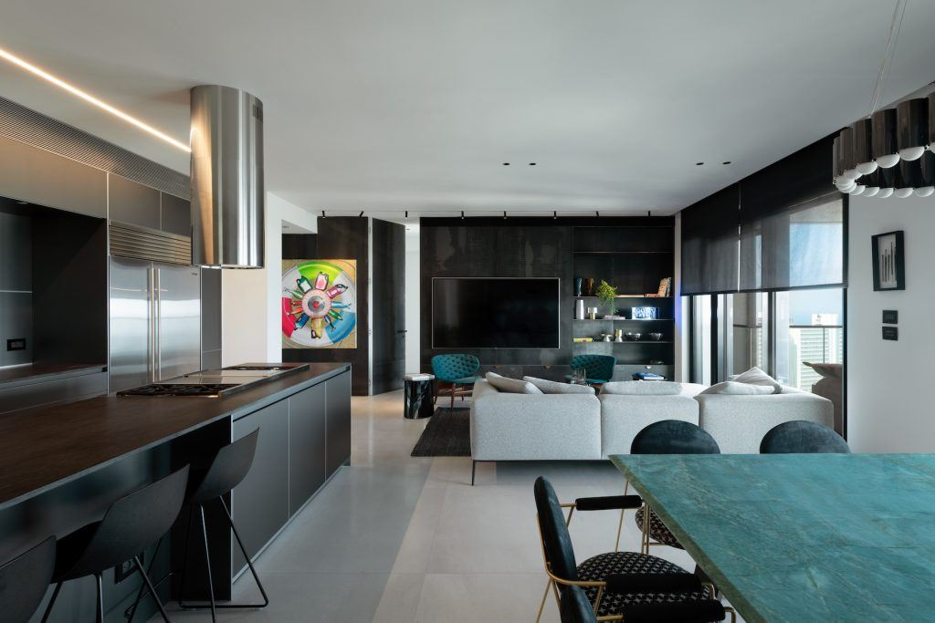 פרויקט תאורה - White City Apartment, Tel Aviv