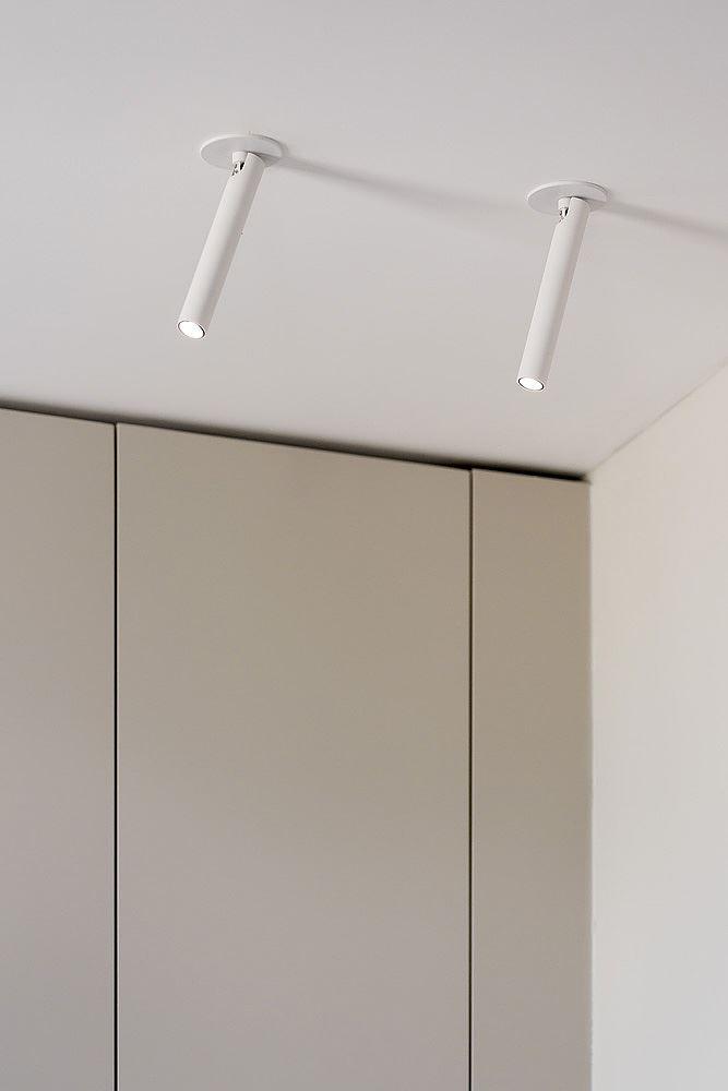 Florentine Project גופי תאורה מיוחדת בתקרת הדירה נעשה על ידי קמחי דורי