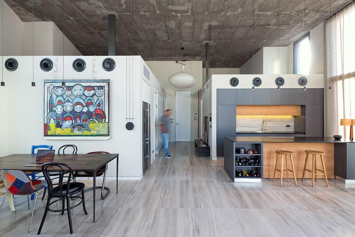 Florentine Project מגוון גופי תאורה במרחב הדירה בעיצוב של קמחי דורי