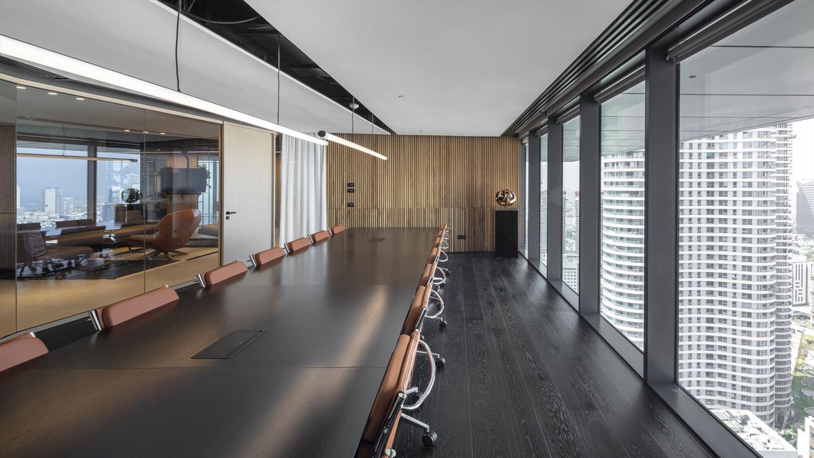 פרויקט תאורה - Fortissimo Offices – Tel Aviv