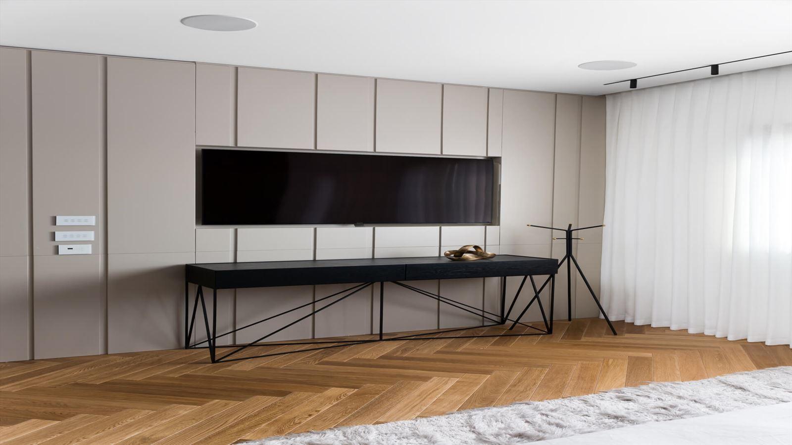 Penthouse Carmelit - עיצוב תאורת הבית על ידי קמחי תאורה