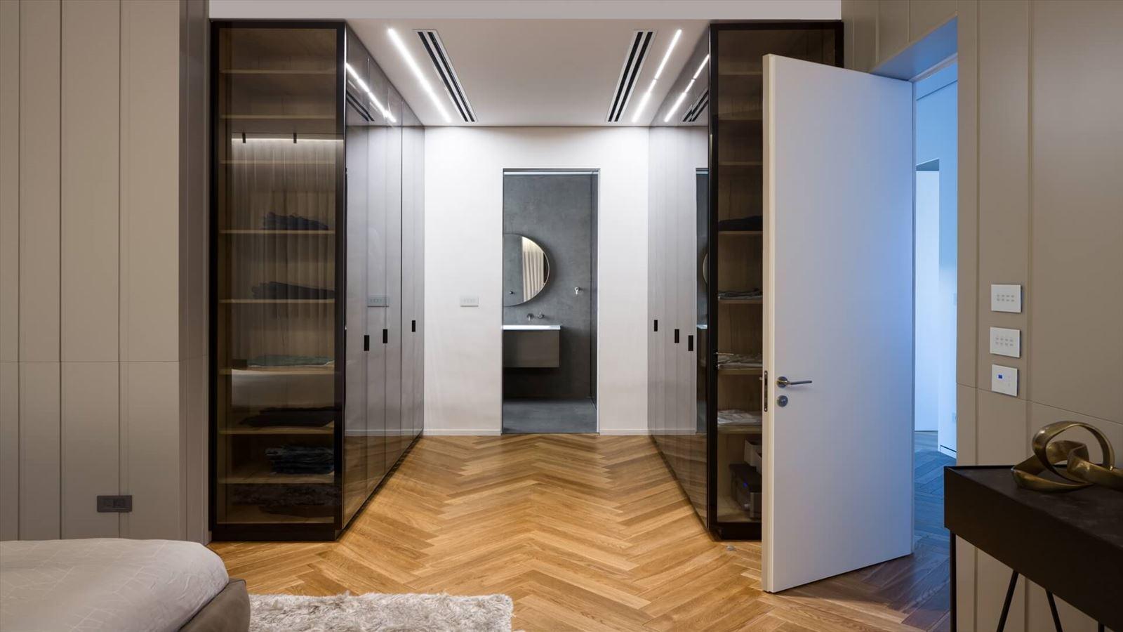 Penthouse Carmelit - עיצוב תאורה אדריכלית