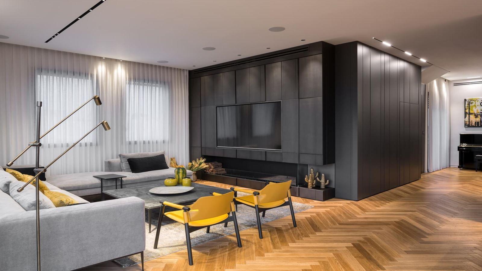 Penthouse Carmelit -  תאורה אדריכלית על ידי קמחי תאורה