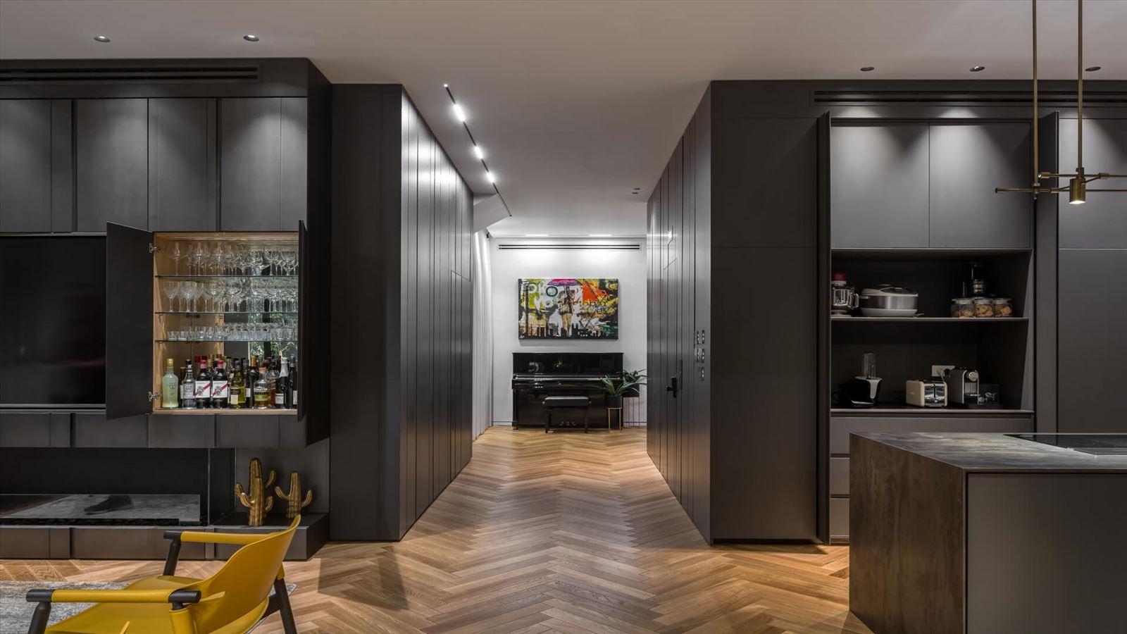 עיצוב תאורת חלל הבית על ידי דורי קמחי תאורה אדריכלית