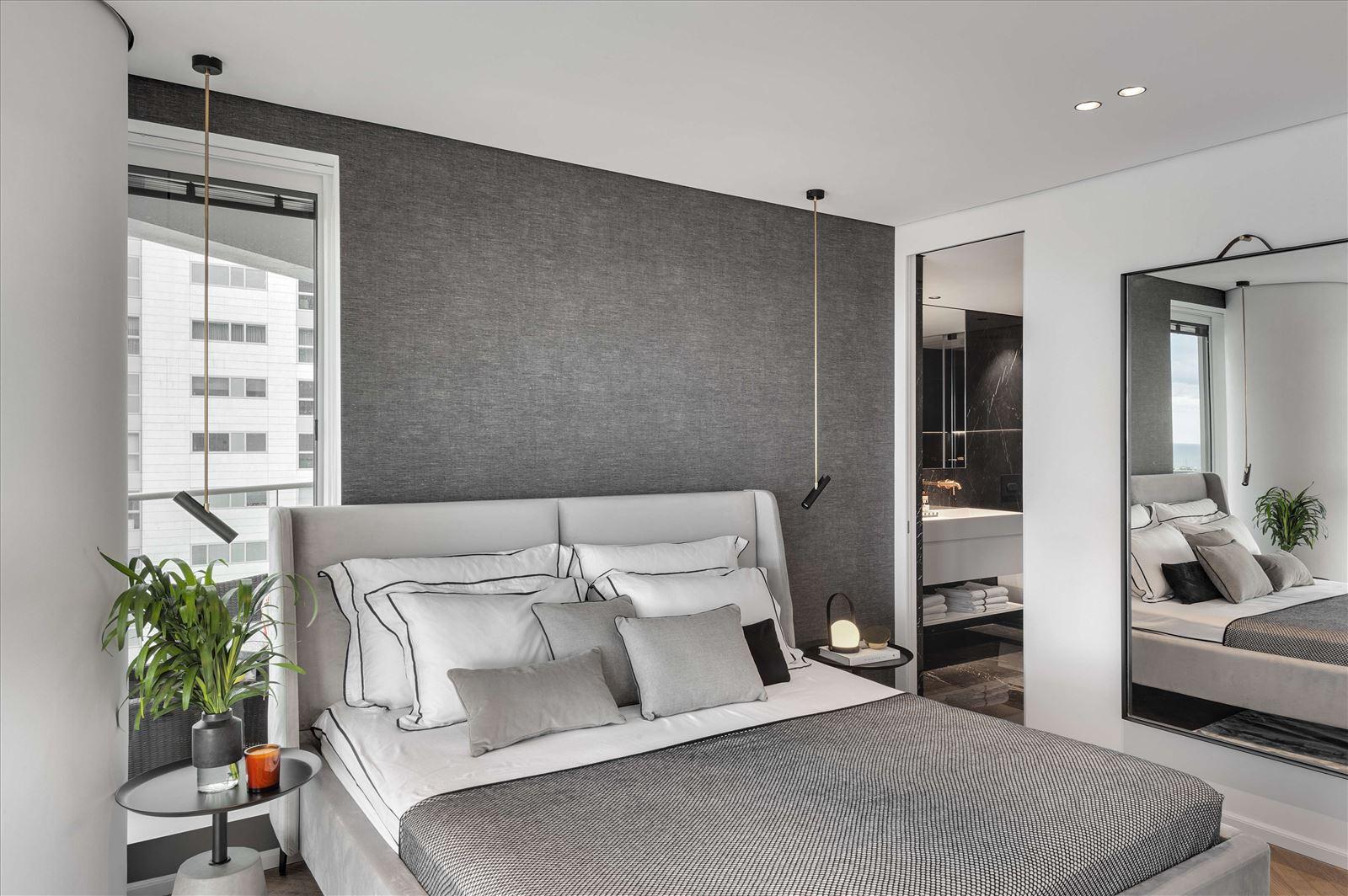 תאורת חדר שינה -פרויקט תאורה בדופלקס על ידי קמחי תאורה