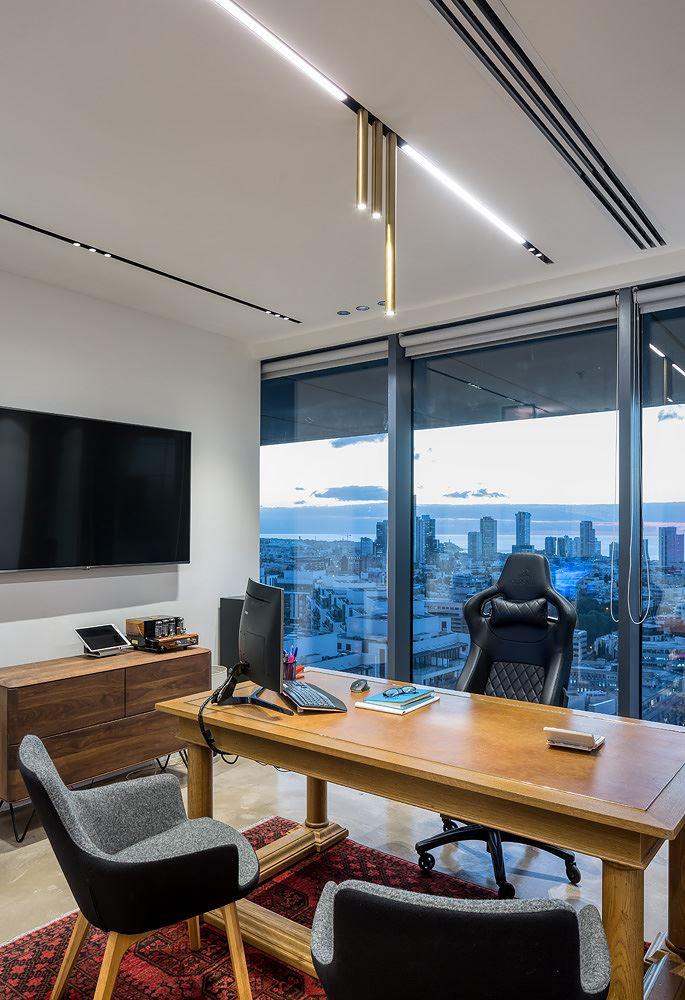 Adi Naor's offices גופי תאורה בפרויקט מבית דורי קמחי
