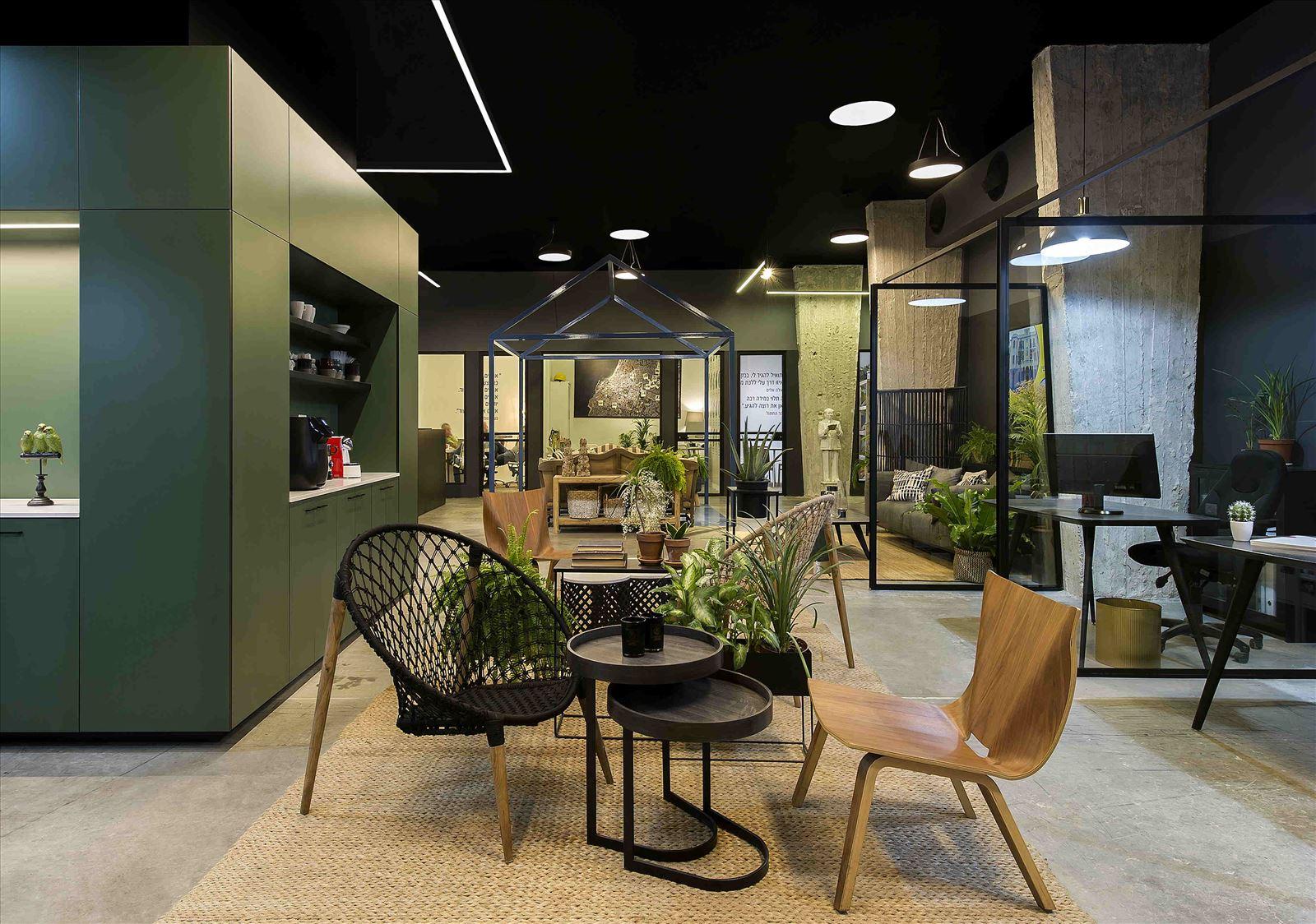 Ewave Offices תאורת משרדים מרהיבה על ידי קמחי תאורה