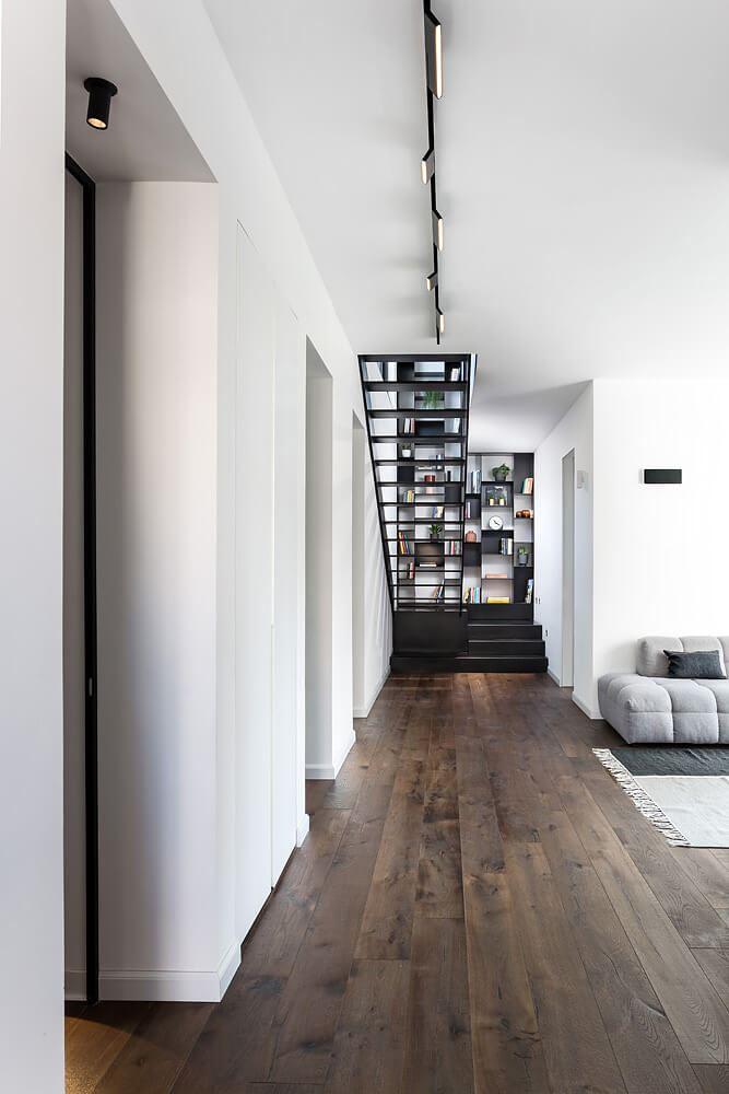 תאורת תקרה, פרויקט תאורה בבית בגבעתיים - DORI KIMHI
