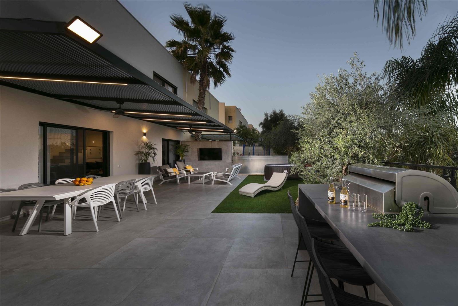 פרויקט תאורה - Lighting project - private house