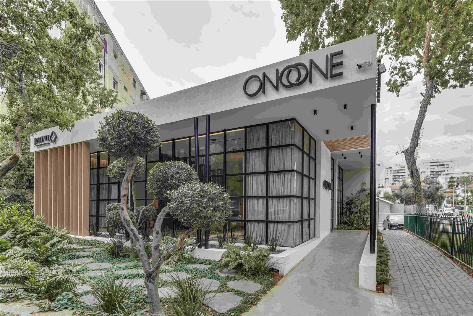 sales office - onone תמונה של גופי תאורה חיצוניים