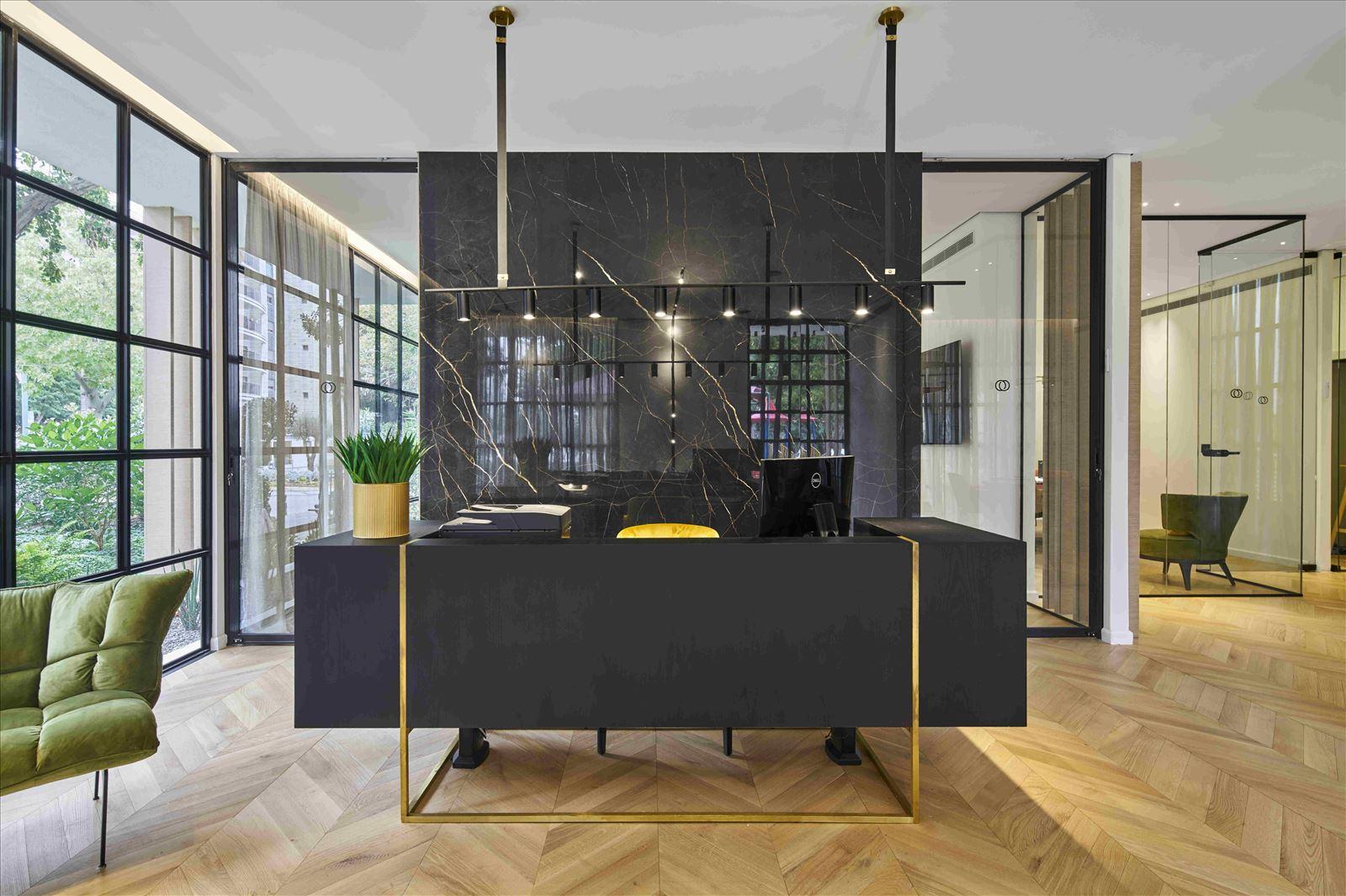 sales office - onone תאורת המזכירות מבית קמחי תאורה