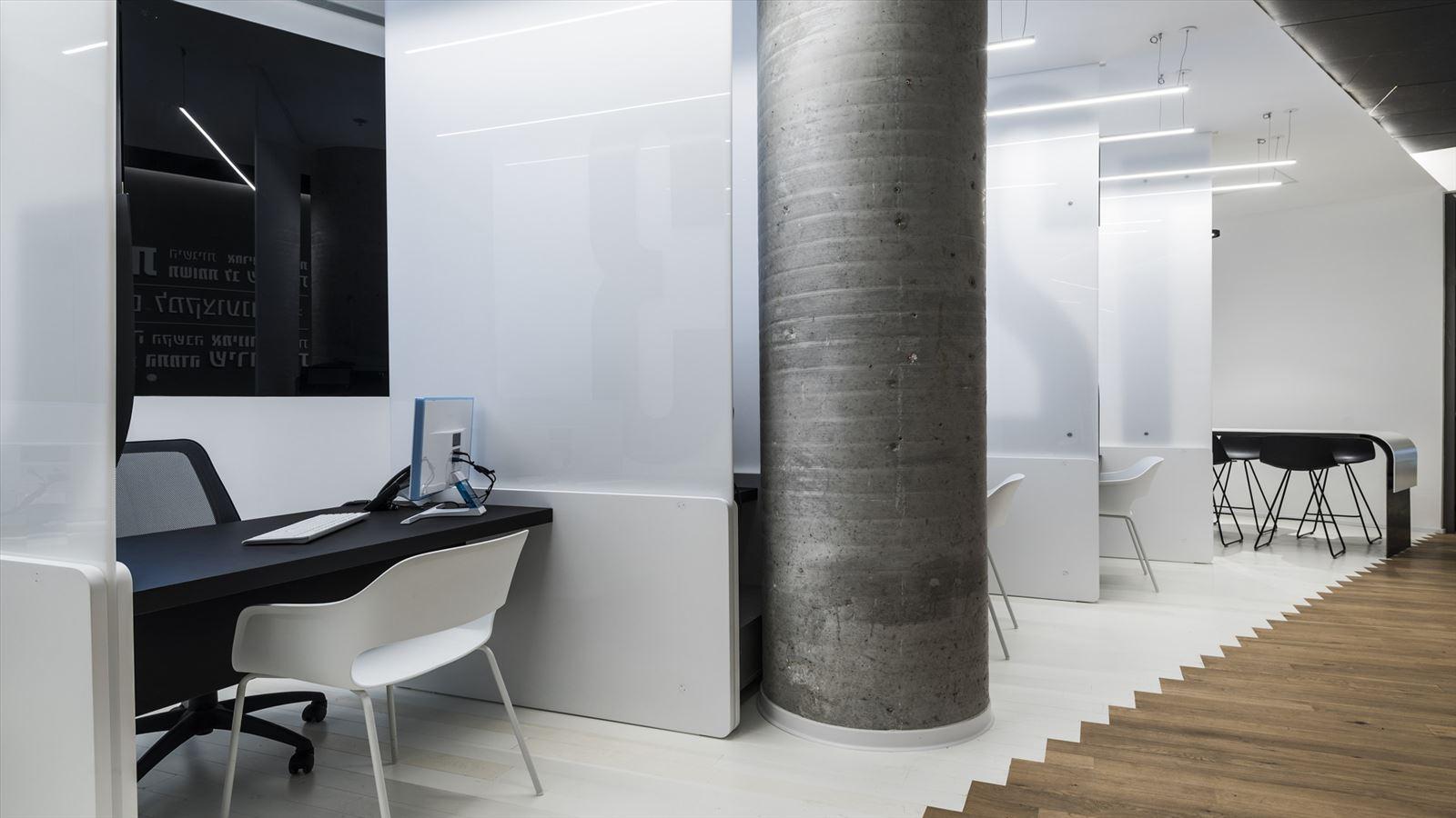 Office lighting project גופי תאורה במשרד על ידי דורי קמחי
