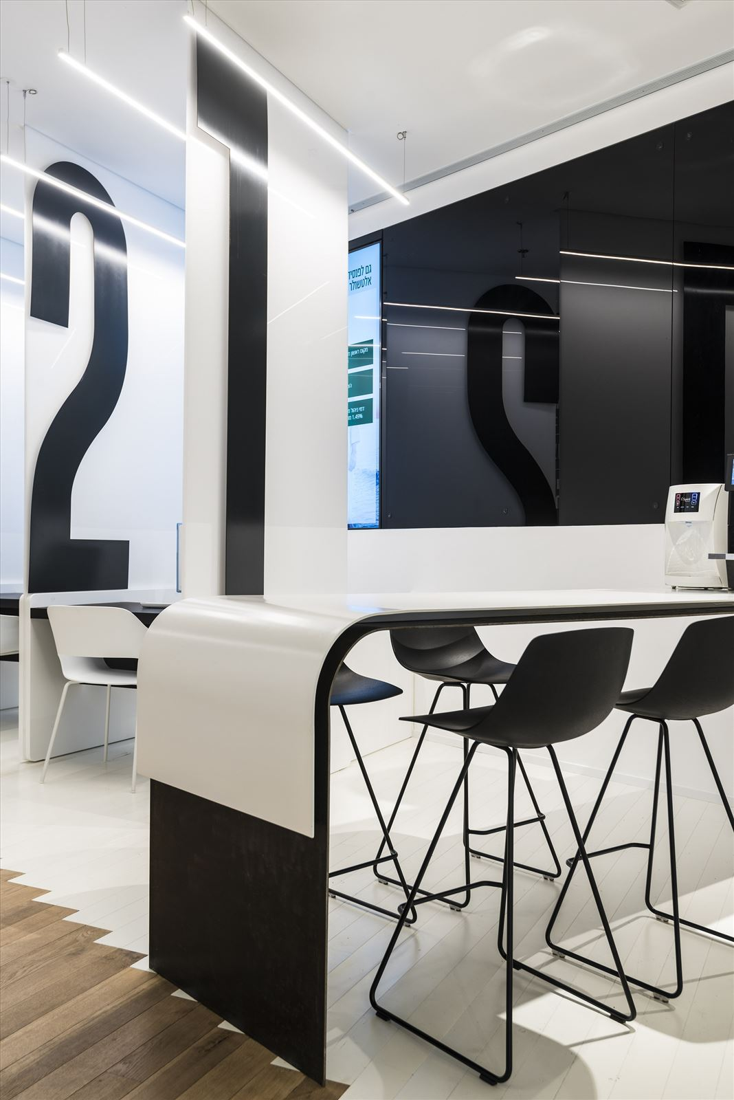 Office lighting project מנורות תלויות במשרד מבית דורי קמחי