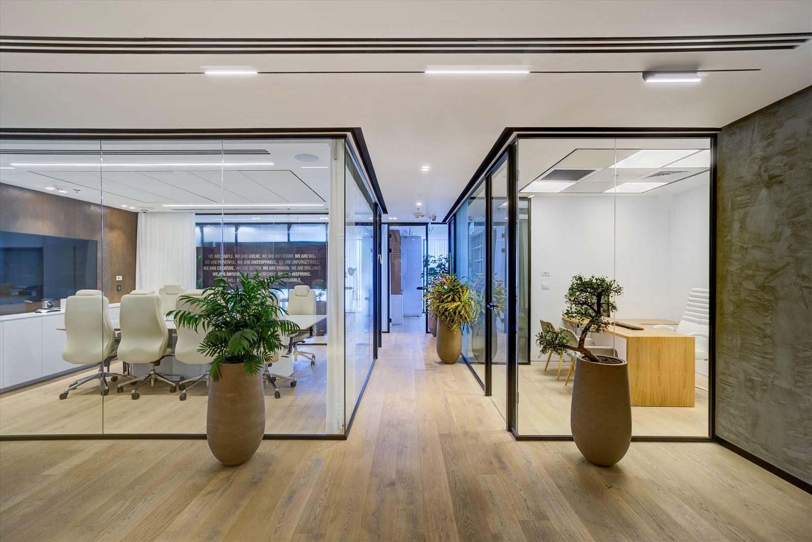 Pi Technology Office - פרויקט תאורה מבית דורי קמחי