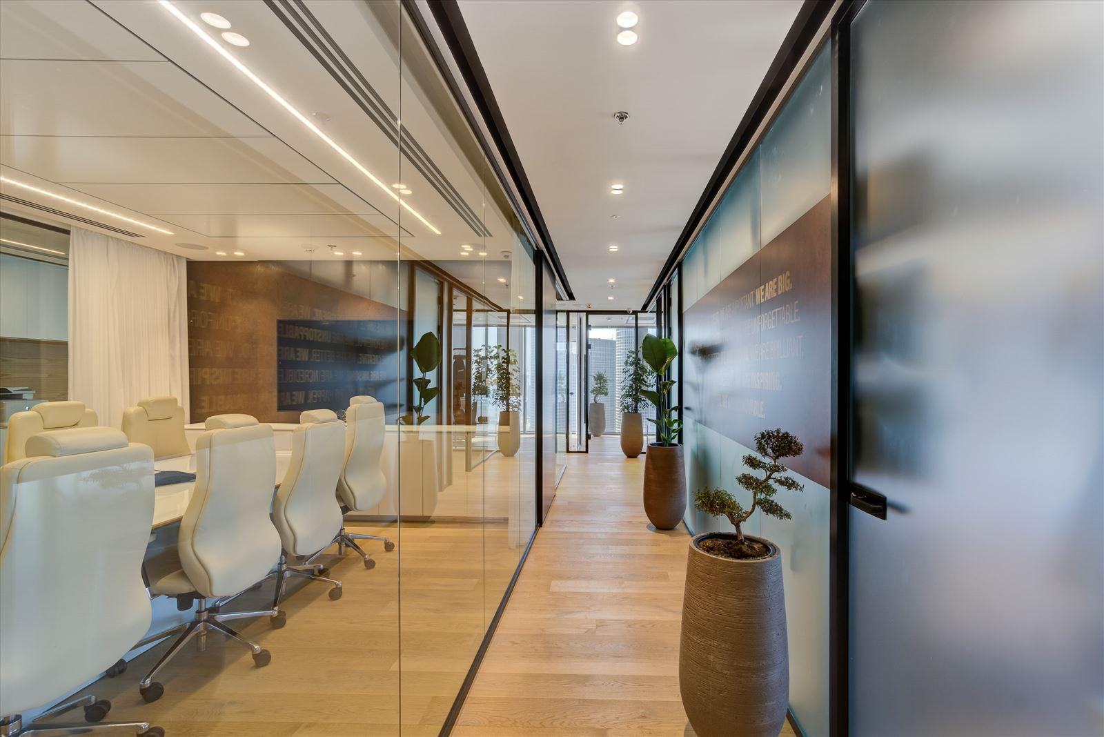 Pie Technology Office - תאורה במשרדים על ידי דורי קמחי