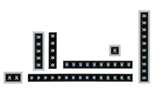גופי תאורה בקטגוריית: שקועי תקרה  ,שם המוצר: רייזר טרימלס בודד