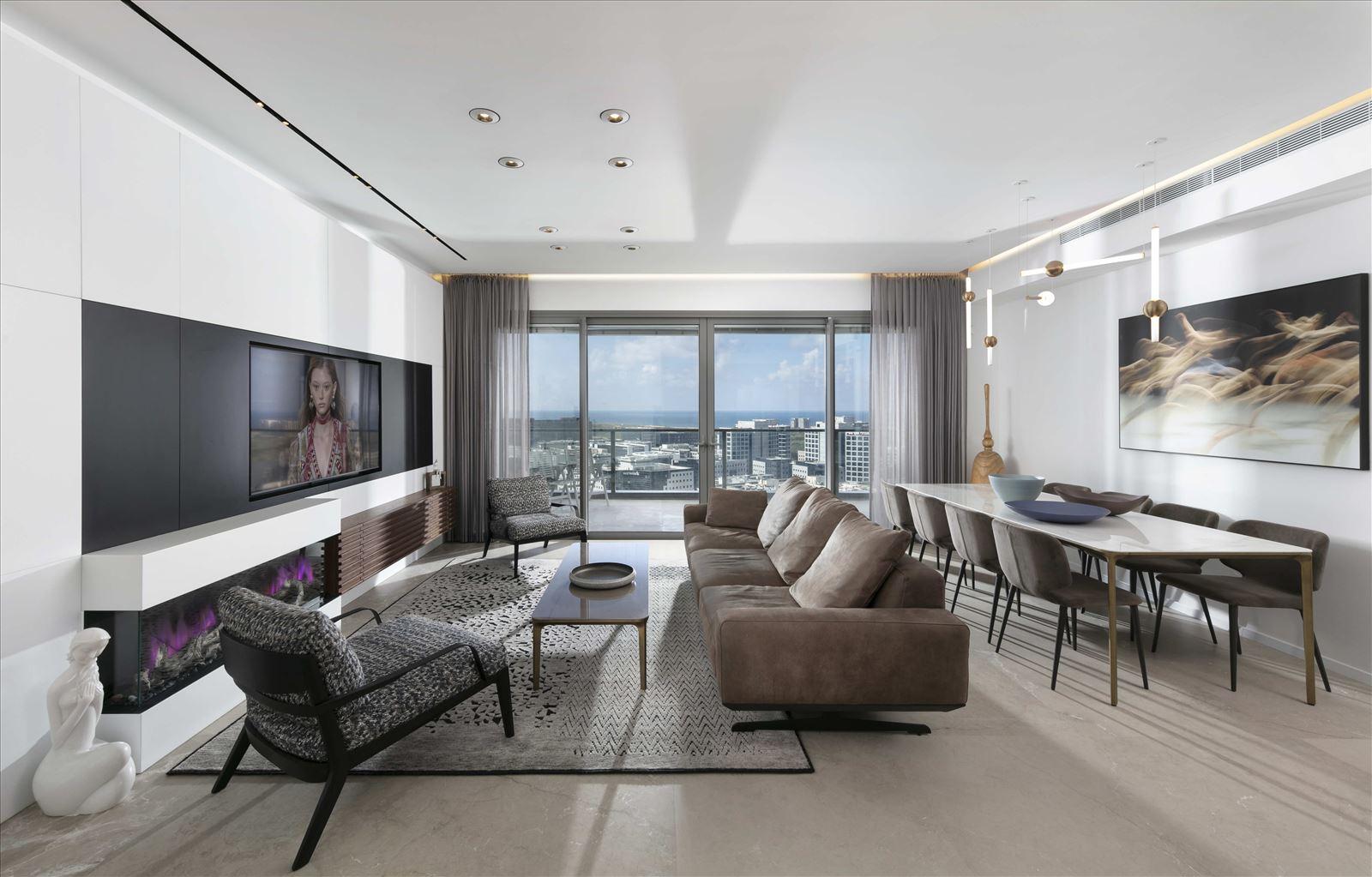 פרויקט תאורה - Private home - Herzliya
