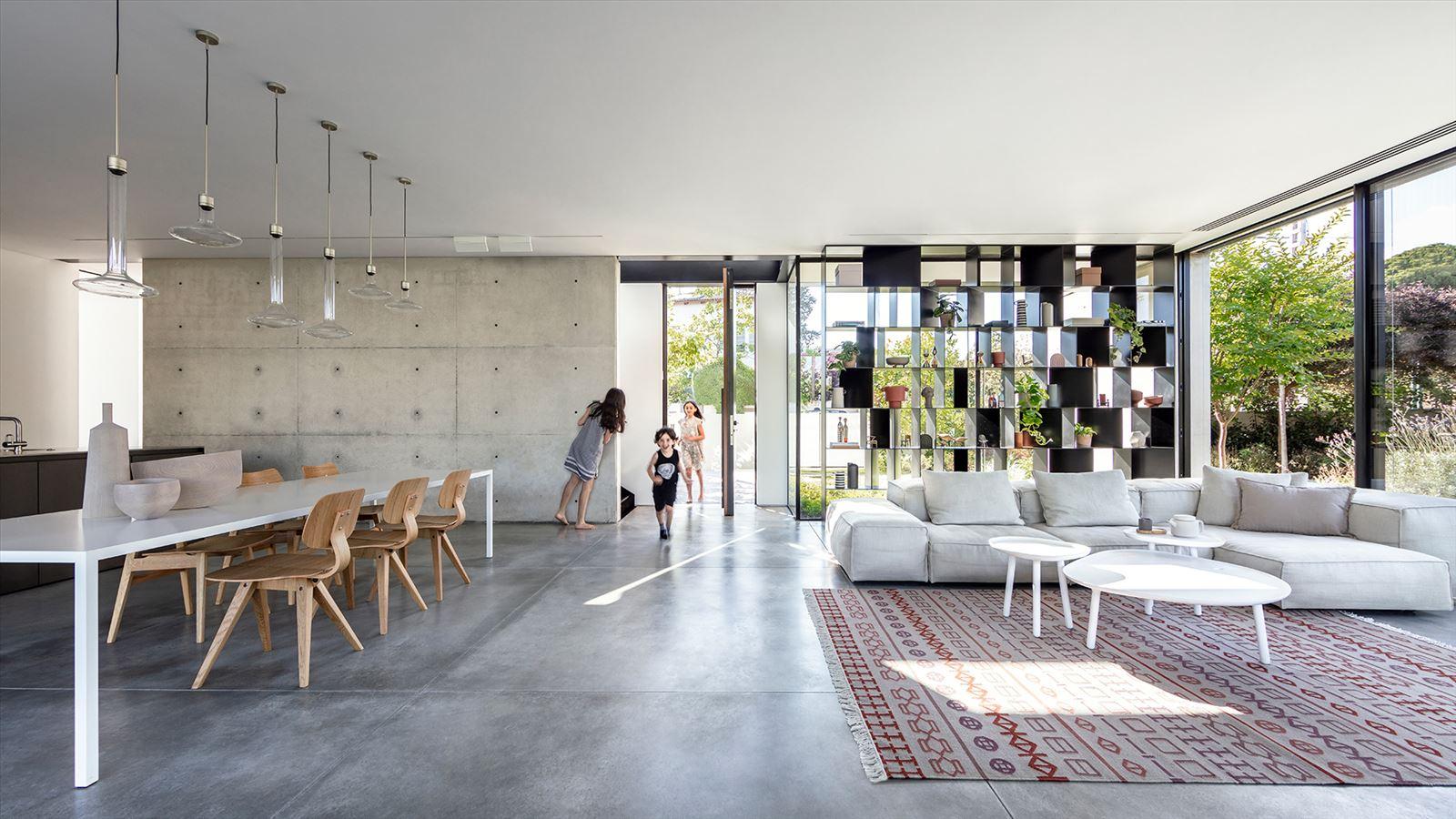 בית פרטי במרכז הארץ - פרוייקט תאורה דורי קמחי