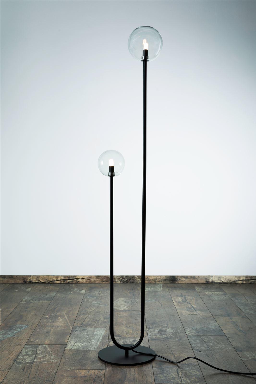 גופי תאורה בקטגוריית: מנורות עמידה  ,שם המוצר: מ.עמידה פריז S שחור