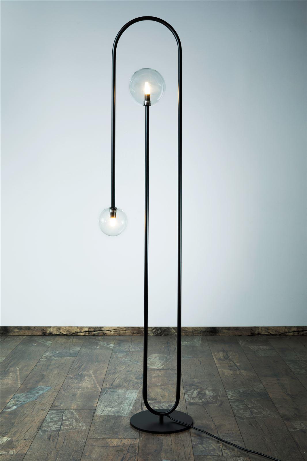 גופי תאורה בקטגוריית: מנורות עמידה  ,שם המוצר: מ.עמידה פריז L שחור